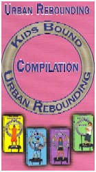 Kids Urban Rebounding by JB Berns DVD